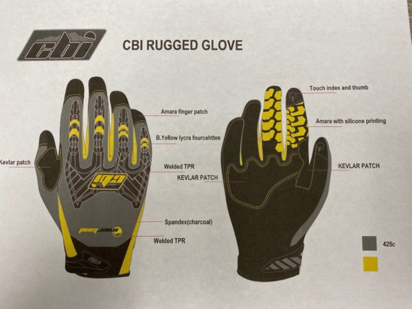 CBI Knocker gloves