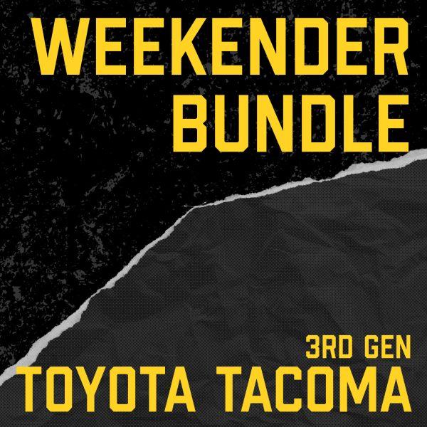 3rd Gen Toyota Tacoma Weekender Bundle