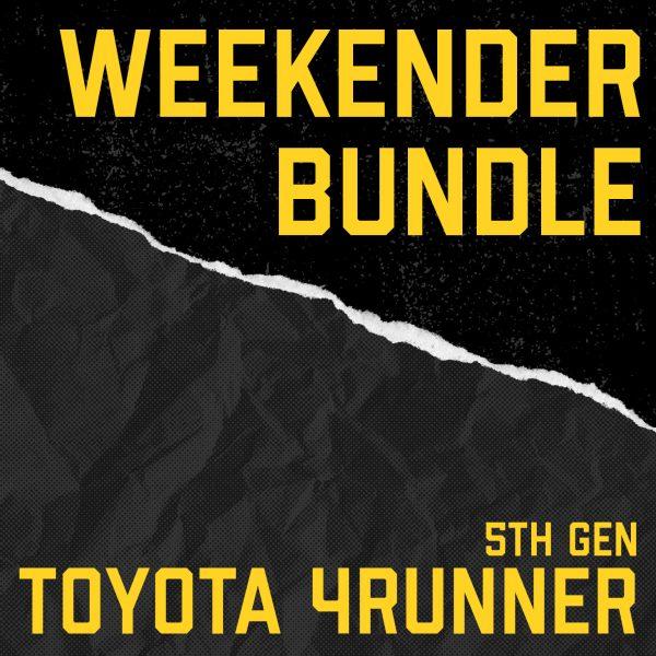 5th Gen Toyota 4Runner Weekender Bundle