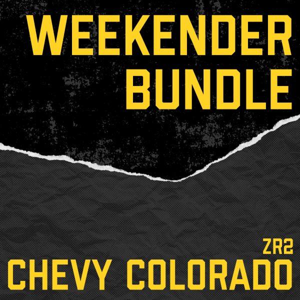 Chevy Colorado ZR2 Weekender Bundle