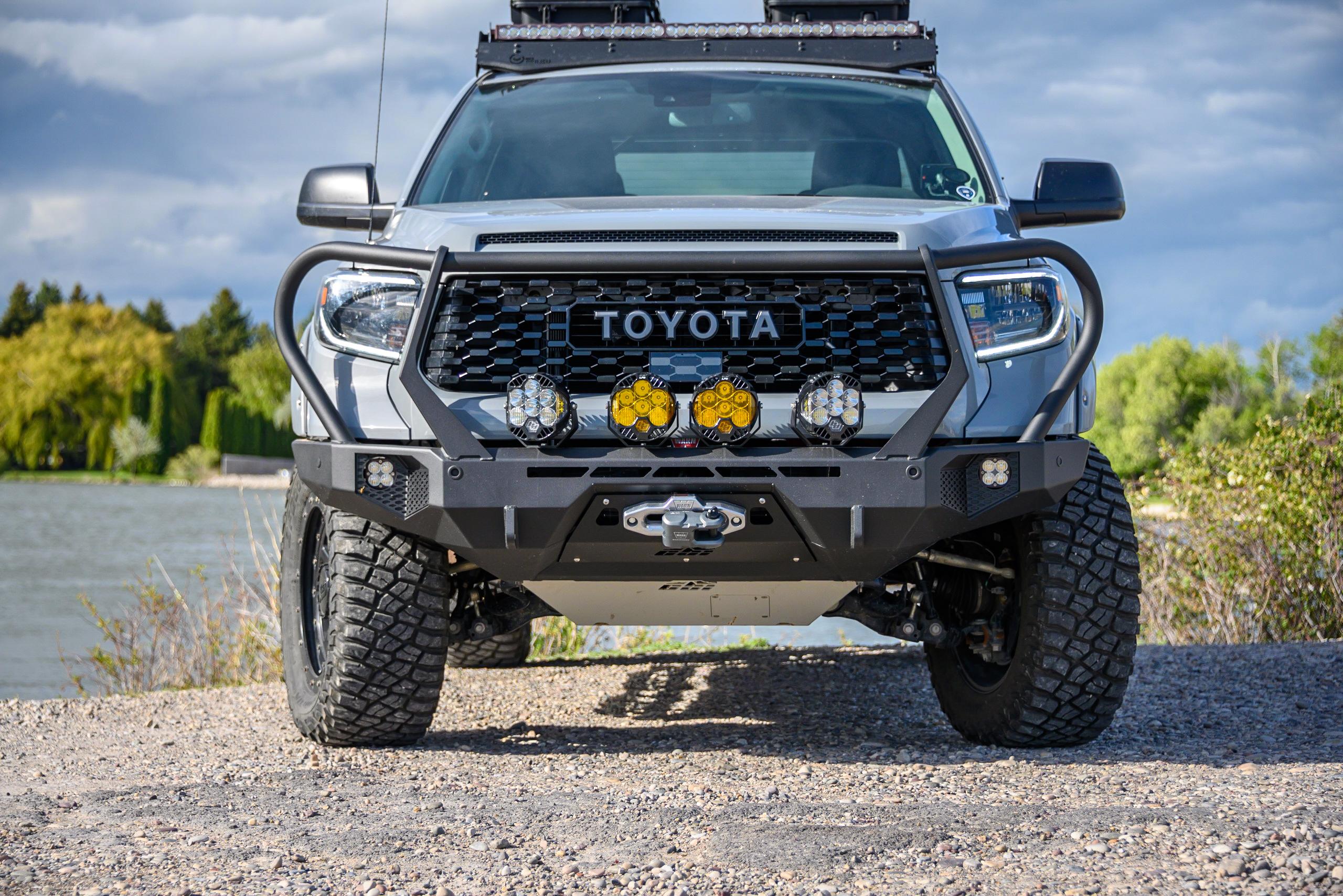 Toyota Tundra Front Bumper 2014 2021 Cbi Offroad Fab