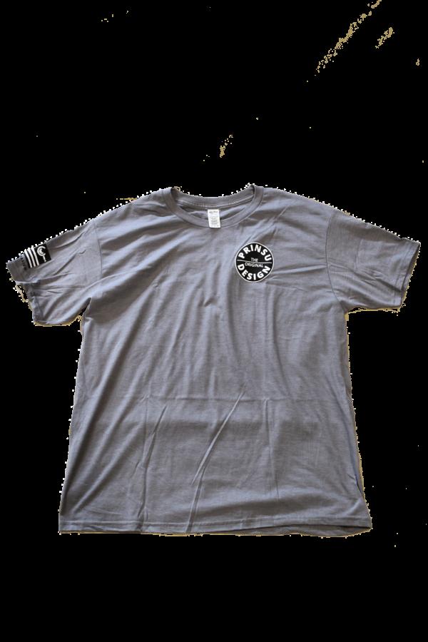 Grey prinsu logo tee