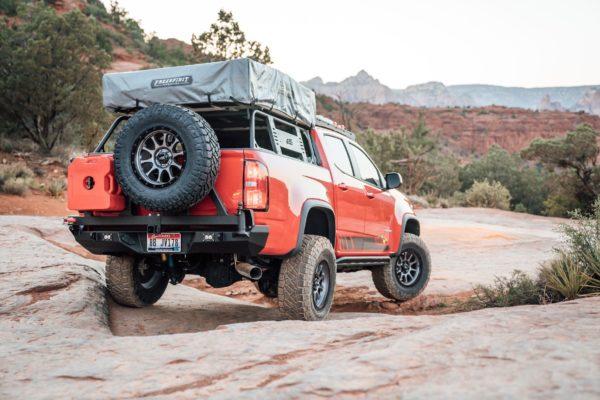 Chevy Colorado Rear Bumper