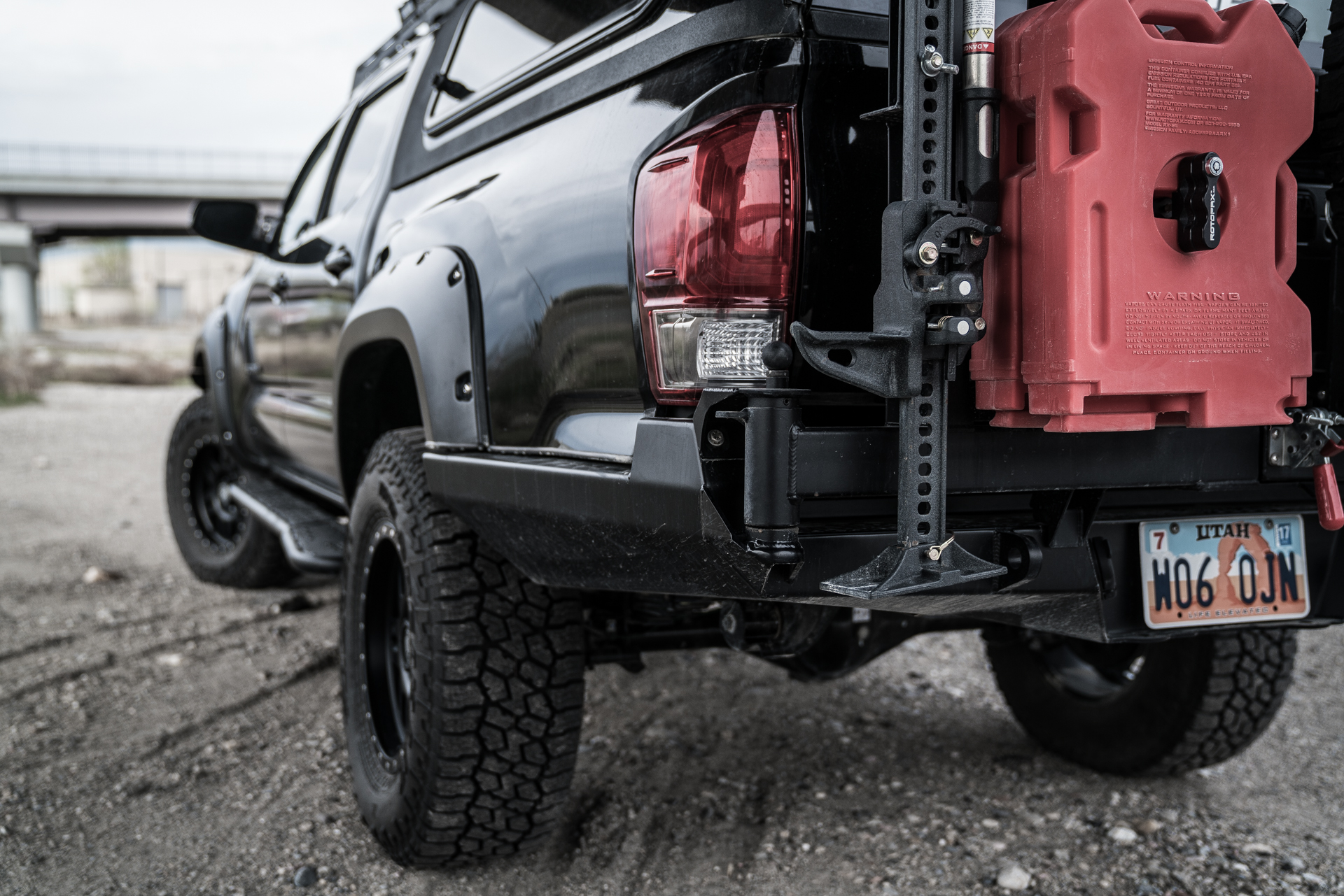 3rd Gen Tacoma High Clearance Rear Bumper | 2016-Current