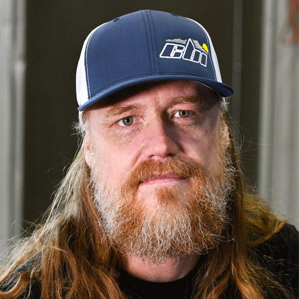 blue white embroidered cbi hat