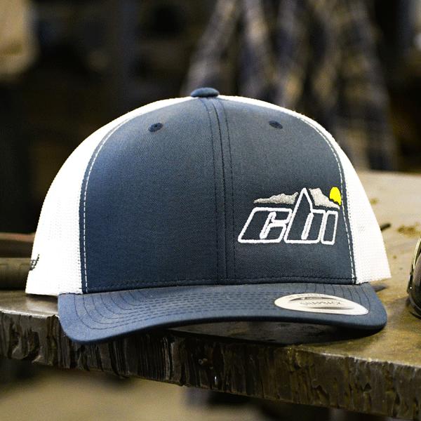 BLu white log gear hat cbi