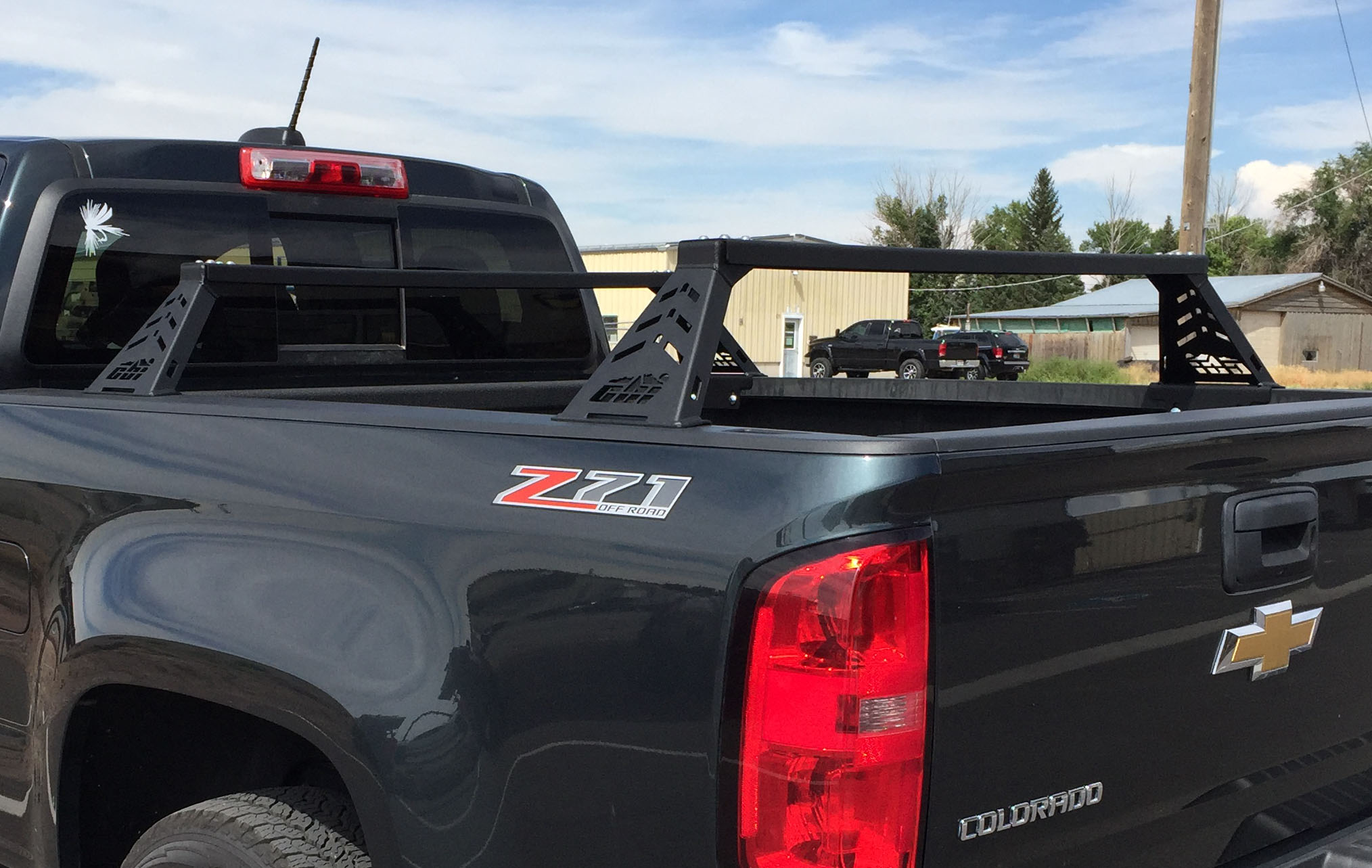 Cbi Offroad Fab Chevy Colorado Overland Bed Bars 2015 2020